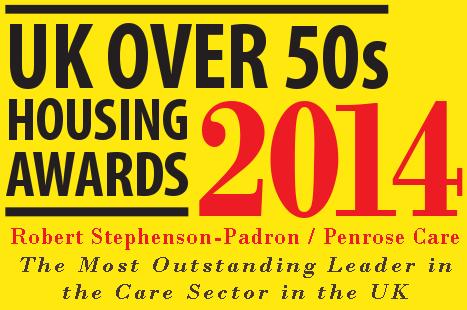UK Over 50s Housing Awards - Penrose Care