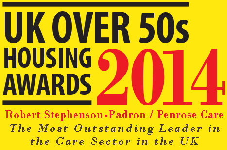 UK Over 50s Housing Awards - Penrose Care