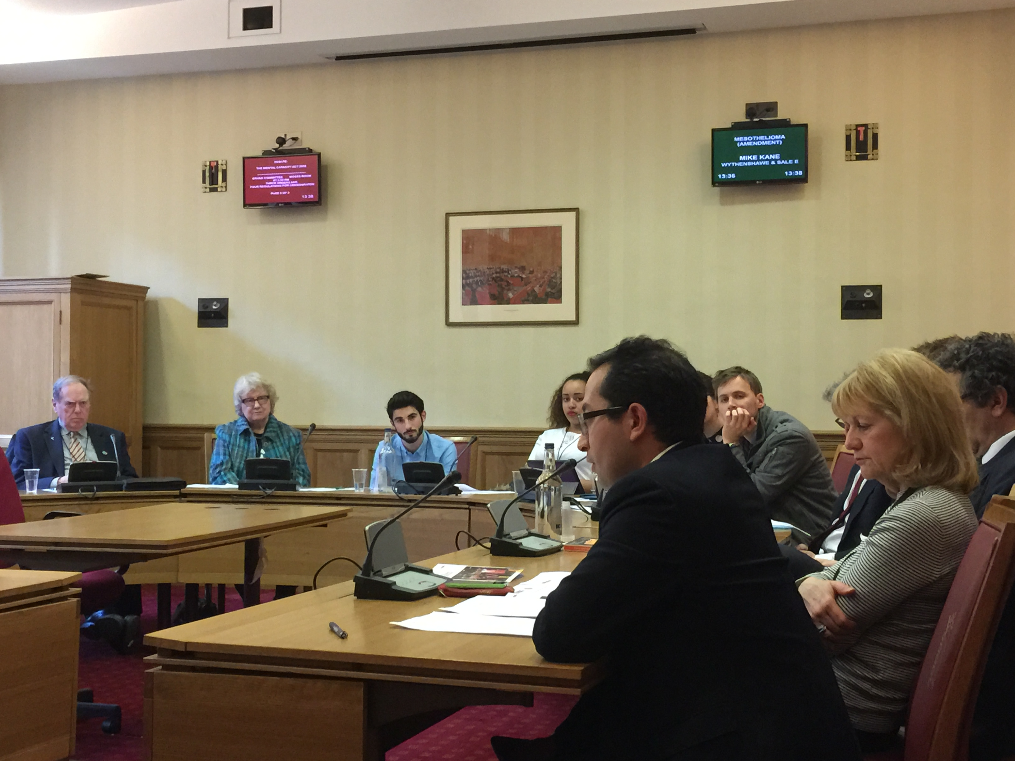 2015-03-10 (Penrose Care) Robert Stephenson-Padron speaking House of Lords