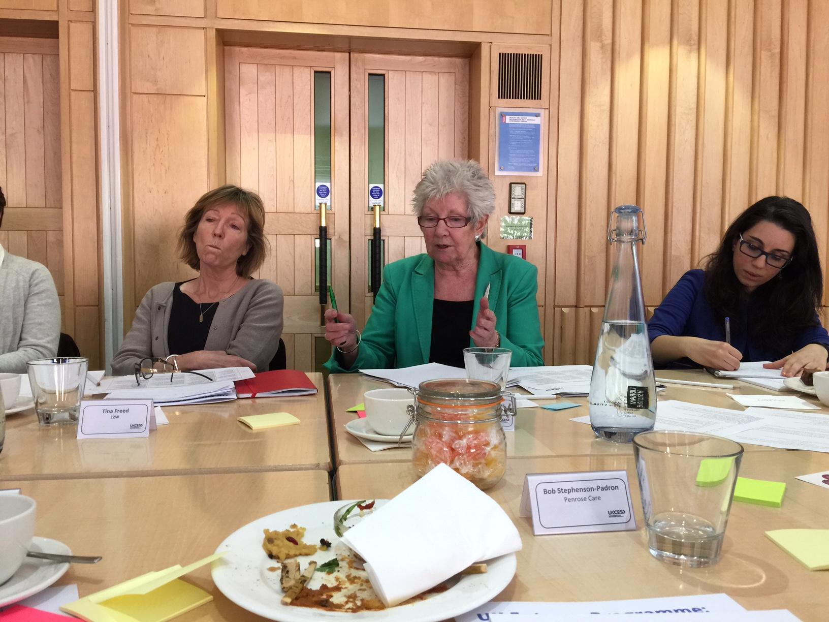 2015-03-31 (Penrose Care) Baroness Margaret Prosser UKCES Gender Equality