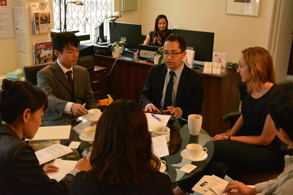 August 13, 2015 Japanese Government Visits Penrose Care 03