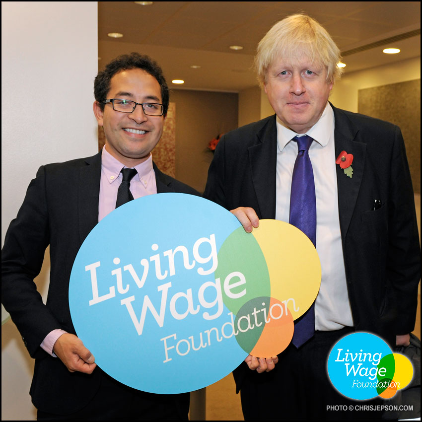 November 2, 2015  (Penrose Care) Robert Stephenson-Padron Boris Johnson Living Wage