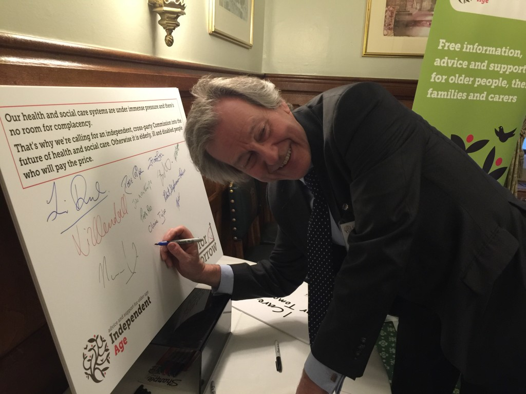 Stephen Dorrell NHS Social Care Commission