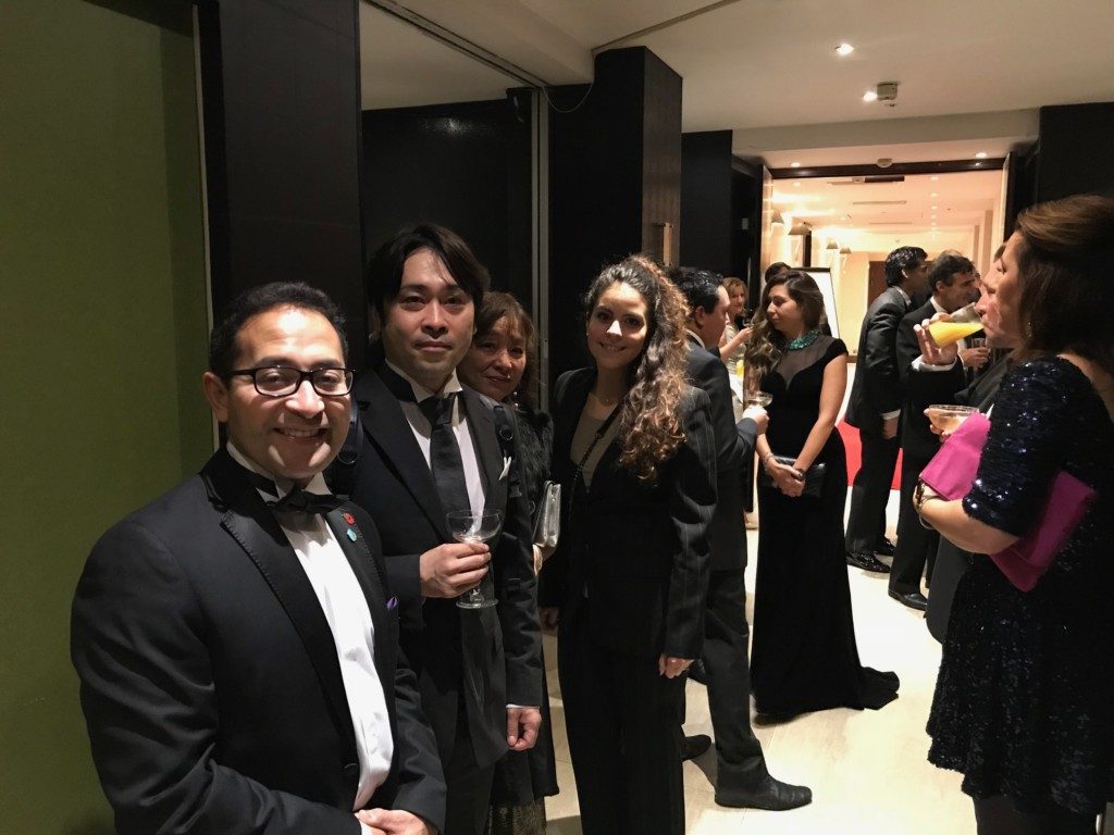 With Penrose Care having a multi-year relationship with healthcare researchers from Japan, Penrose Care's team was especially pleased to meet at the Global Awards ceremony Dr. Hanatsu Nagano who has invented a shoe insole that reduces trips and falls in the elderly.