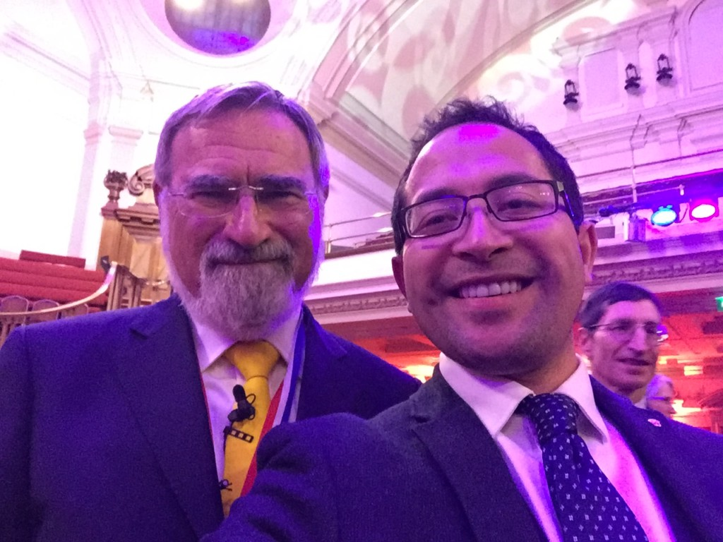 2016-05-26 (Penrose Care) Jonathan Sacks and Robert Stephenson-Padron