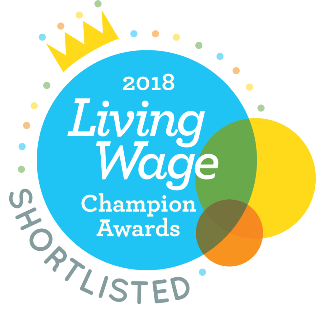 Living Wage Champion 2018 Shortlisted