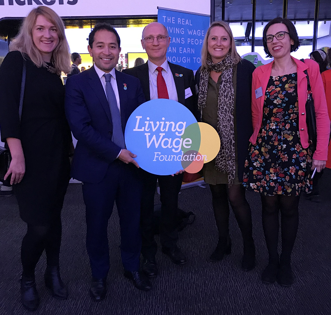 Penrose Care with Living Wage chair and director