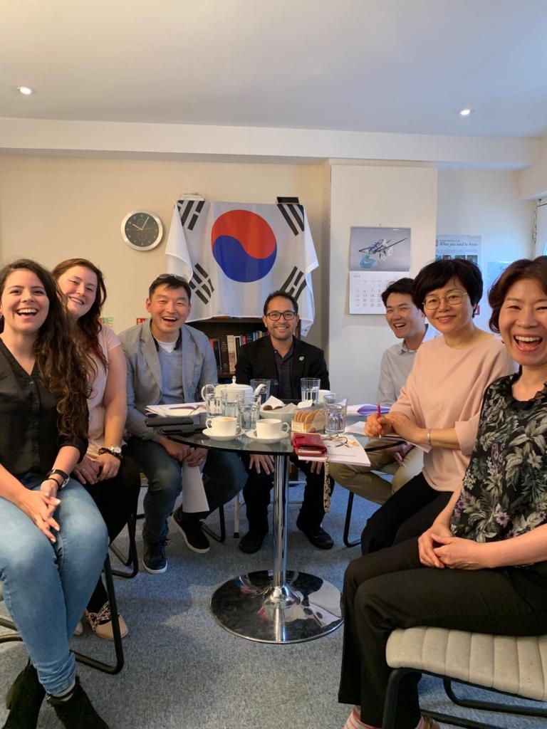 2019-06-06 (Penrose Care) Korea visit photo PR 01
