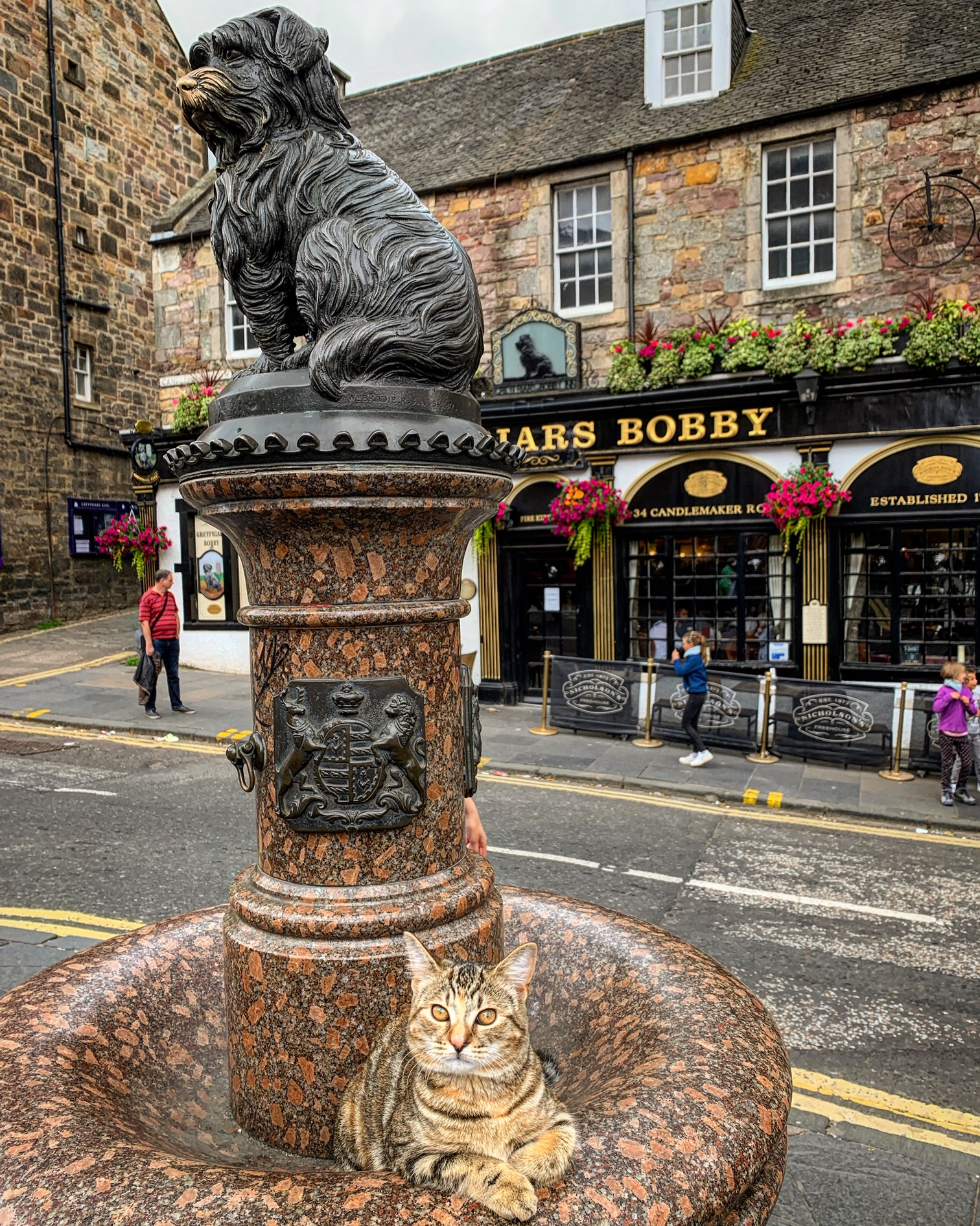 2019-07-19 (Quita the Kitty) Greyfriars Bobby